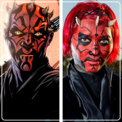Ellie Moonjelly As Dathomirian Zabrak Lady Darth Maul Star Wars